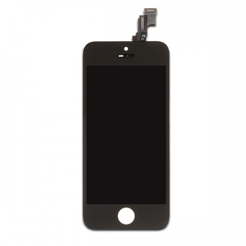 Black OEM LCD display screen assembly replacement kit for iPhone 5c