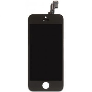 OEM black iPhone 5s LCD display glass screen digitizer DIY repair kit