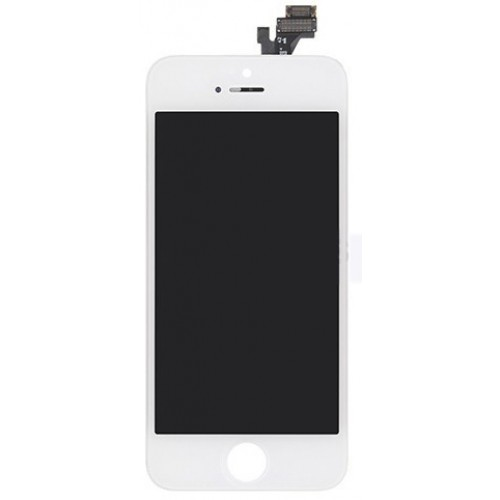 OEM white LCD glass display screen repair fix kit for Apple iPhone 5