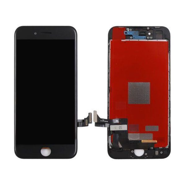 Original black LCD display screen repair kit for fix iPhone 8 Plus