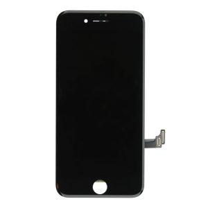 Oryginalny czarny zestaw do montażu ekranu dotykowego do iPhone'a 8