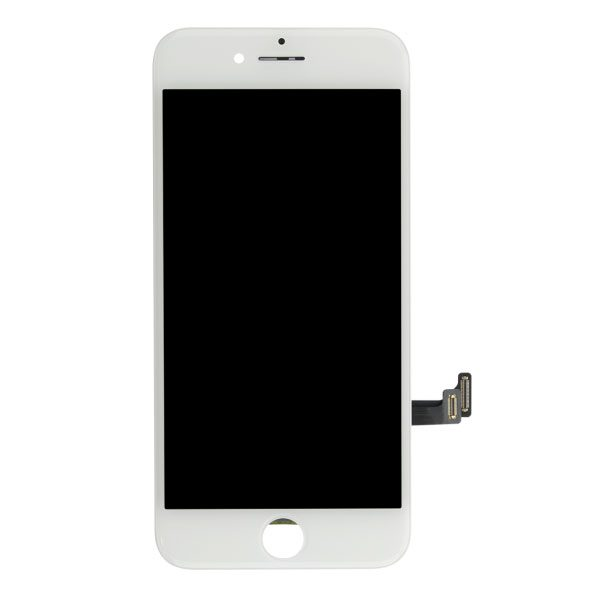 Original white LCD display screen assembly fix kit to repair iPhone 8
