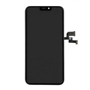 Замена черного комплекта дисплея дисплея экрана касания OLED для iPhone X
