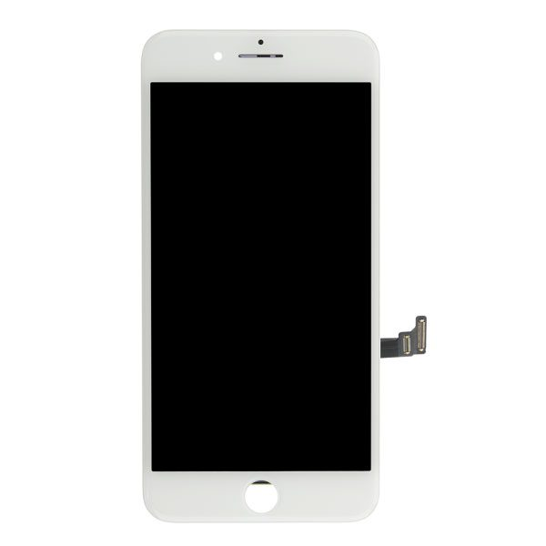 White glass touch screen replacement assembly kit for iPhone 8 plus